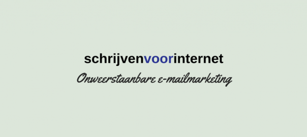 schrijven voor internet