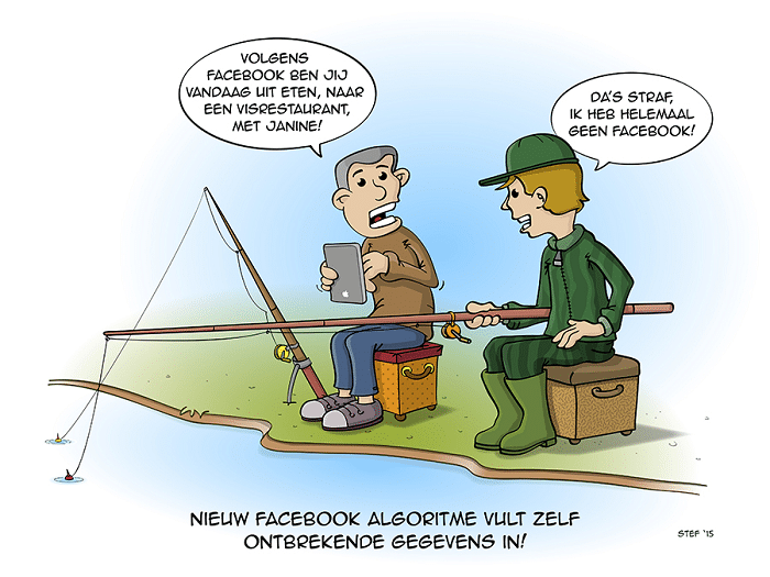 Facebook algoritme social media inzetten