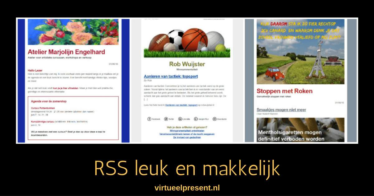 RSS leuk en makkeliijk