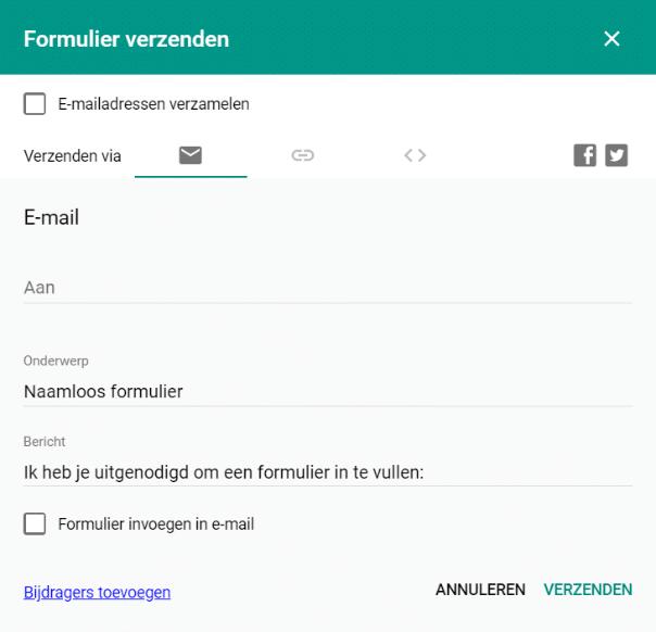 Gmail verzenden