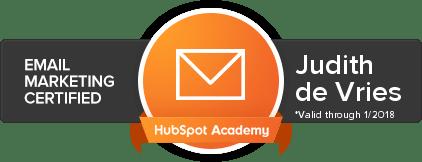Hubspot e-mailmarketing