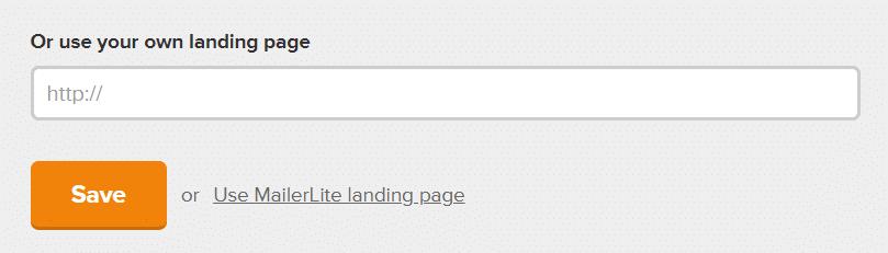 Landingspagina op je website