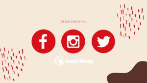 Mailchimp social posts