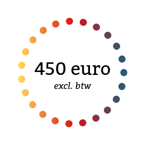 450 euro excl. btw