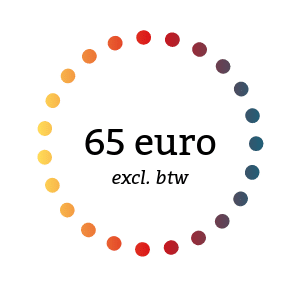 65 euro ex btw