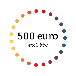 500 euro excl. btw