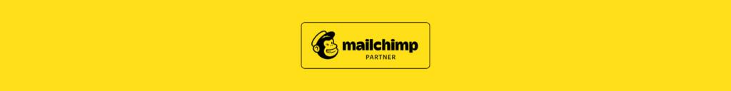 Officiële Mailchimp partner badge