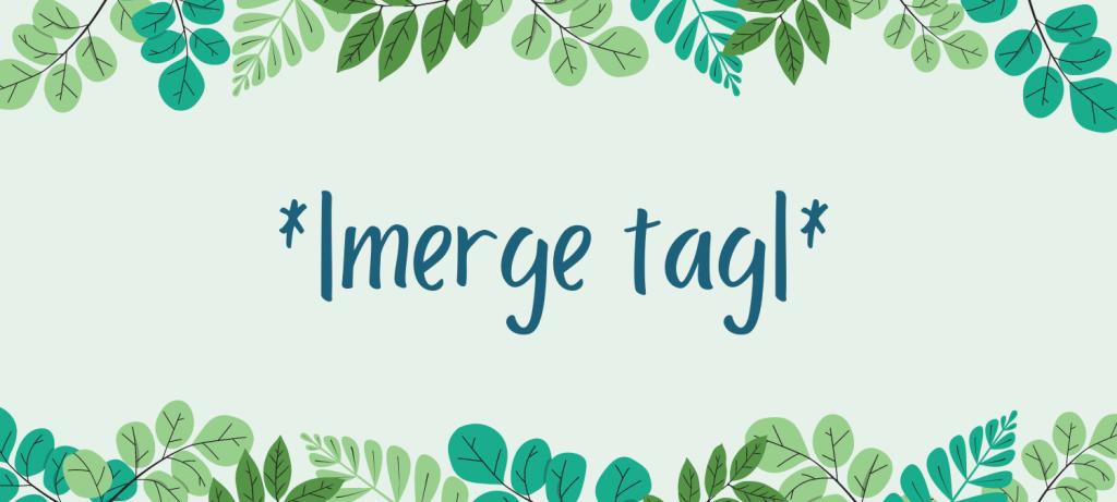 wat is een merge tag