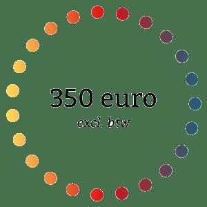 prijs 350 euro