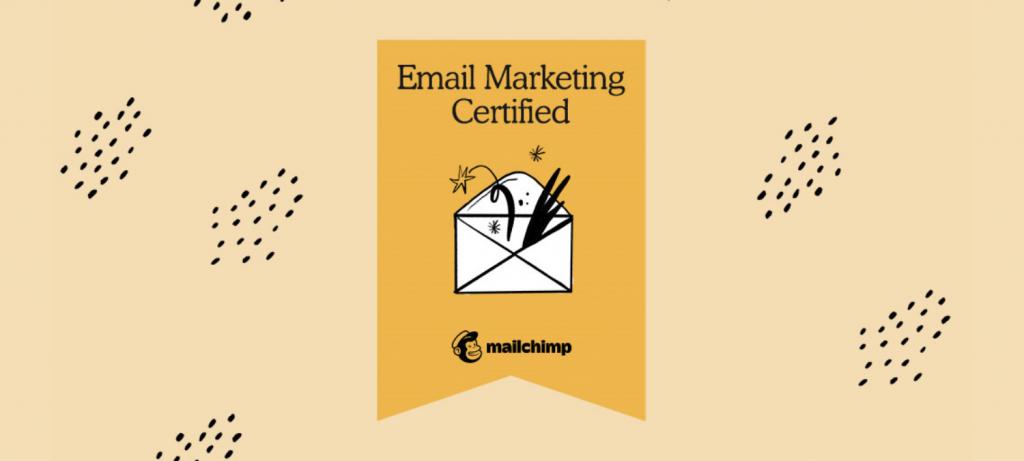Mailchimp e-mail marketing gecertificeerd