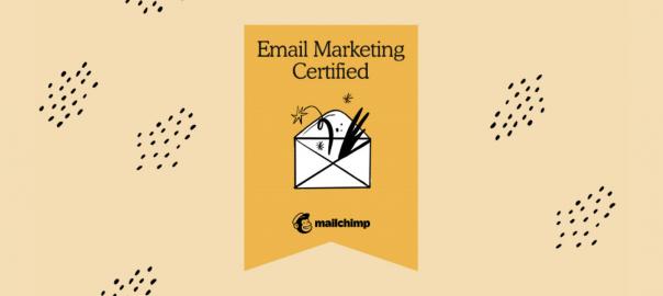 Mailchimp e-mail certificaat